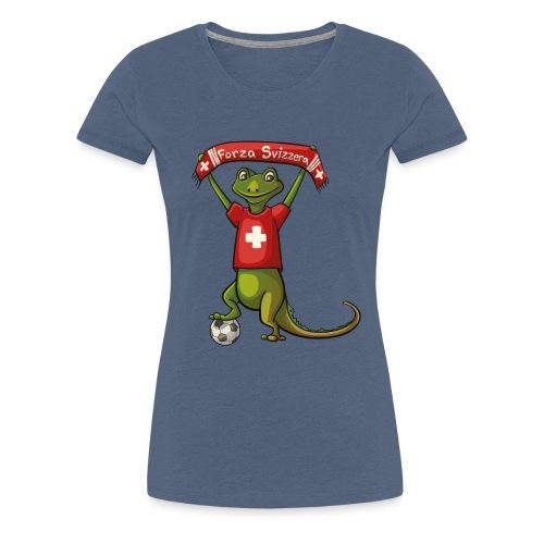 Forza Svizzera - Frauen Premium T-Shirt