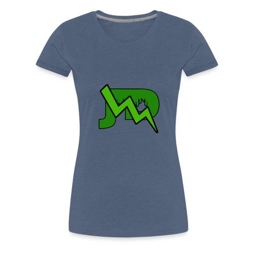 JD LOGO - Vrouwen Premium T-shirt