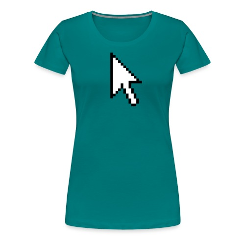 Mouse Arrow - Vrouwen Premium T-shirt