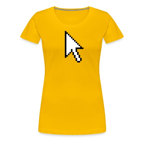 Mouse Arrow - Vrouwen Premium T-shirt