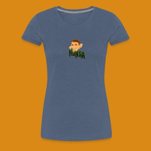 NUNSA com Caricatura - Women's Premium T-Shirt