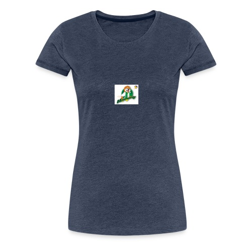 hammarby mascot01 ab - Premium-T-shirt dam