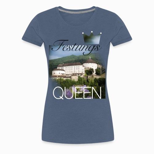 Festungsqueen - Naturfotodesign by Yasmin Embacher - Frauen Premium T-Shirt