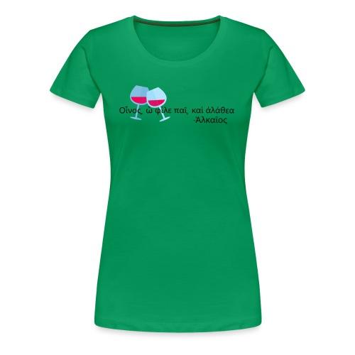 Alceo - Maglietta Premium da donna