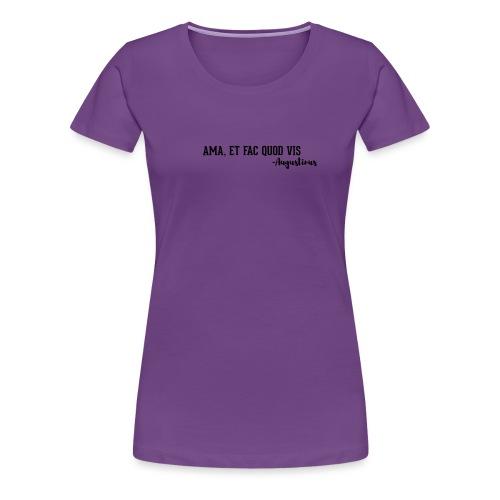 Agostino - Maglietta Premium da donna