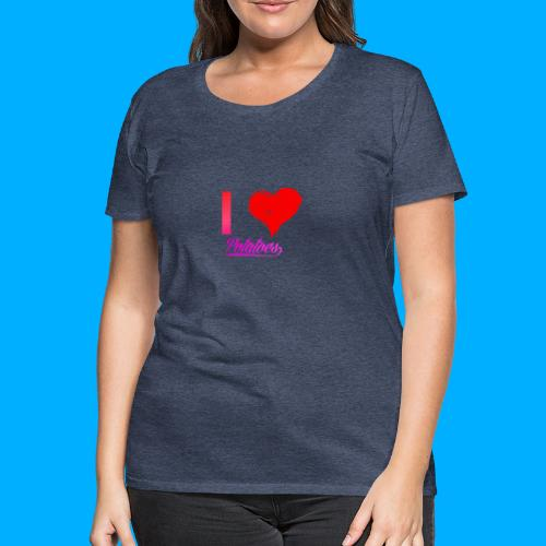 I Heart Potato T-Shirts - Women's Premium T-Shirt