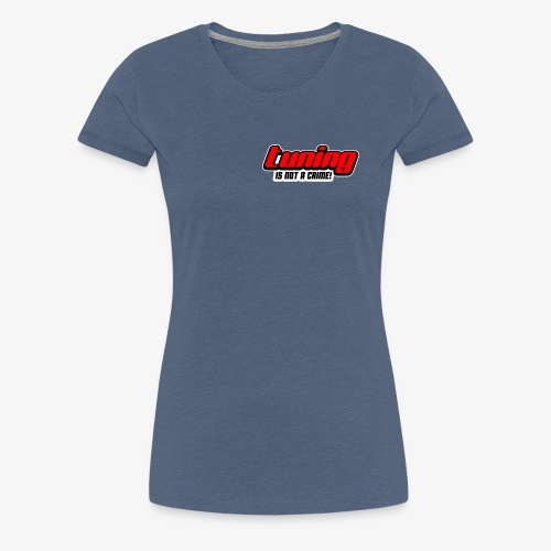 Tuning Sticker - Frauen Premium T-Shirt