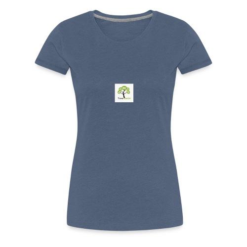 Solo logo trovavolantini - Maglietta Premium da donna