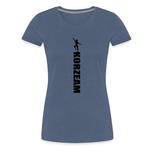 Korzeam unicolore - T-shirt Premium Femme