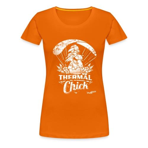 thermal_chick_Nanos_neu - Frauen Premium T-Shirt