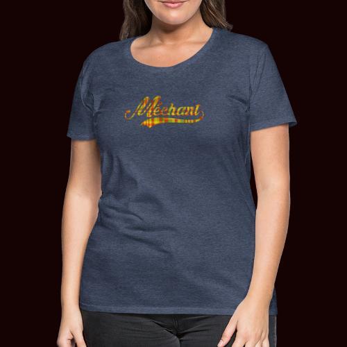 méchant madras - T-shirt Premium Femme