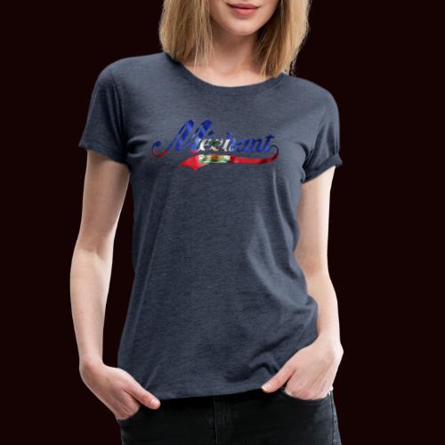 méchant drapeau haïtien - T-shirt Premium Femme