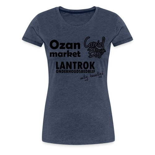 Ozan+Lantrok+CBD - Vrouwen Premium T-shirt