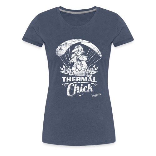 thermal_chick_Nanos_neu - Frauen Premium T-Shirt