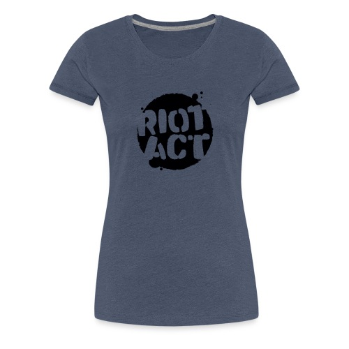 Black (large) - Women's Premium T-Shirt