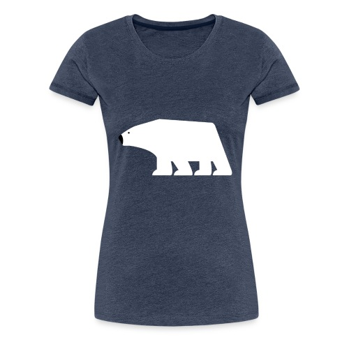 Polarbear, Eisbaer - Frauen Premium T-Shirt