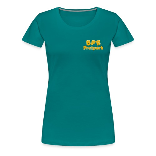 BPR Pretpark borstlogo - Vrouwen Premium T-shirt