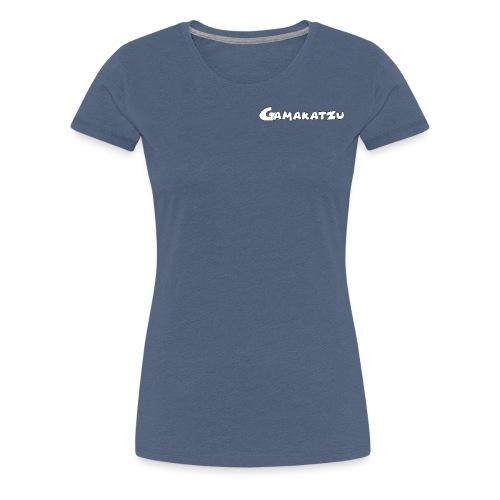 Gamakatzu Schriftzug A - Frauen Premium T-Shirt