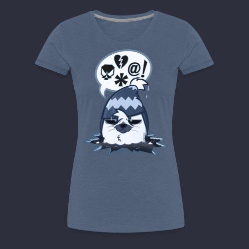 Kuutti   JÄÄFYSIIKAT - Naisten premium t-paita