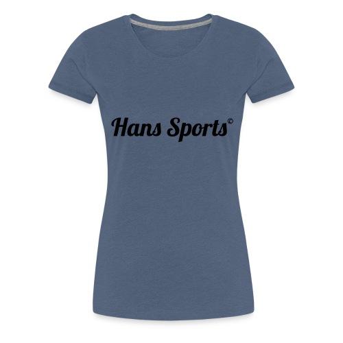 hanssports - Frauen Premium T-Shirt