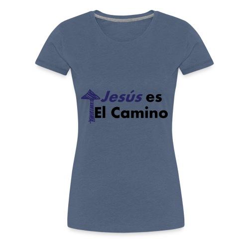 jesus el camino - Camiseta premium mujer