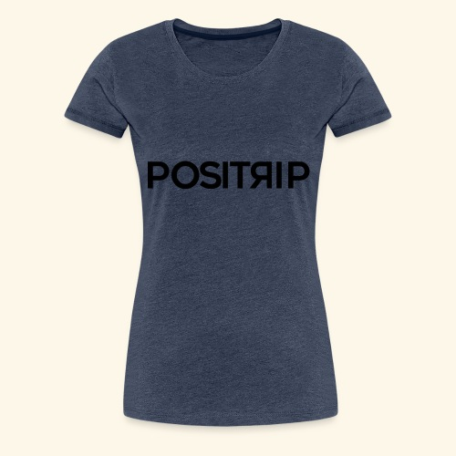 Positrip logo - Maglietta Premium da donna