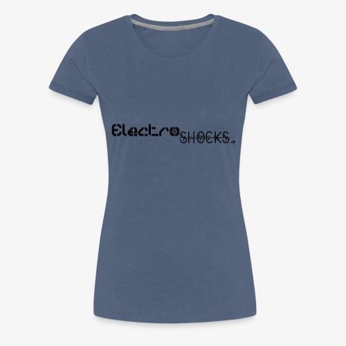 ElectroShocks BW siteweb - T-shirt Premium Femme