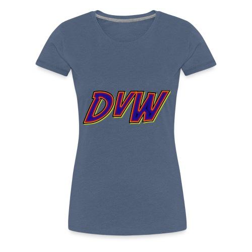 DvW logo - Women's Premium T-Shirt