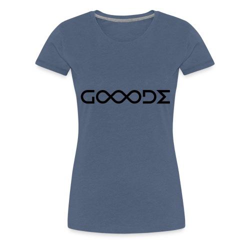 Gooode all new - Frauen Premium T-Shirt