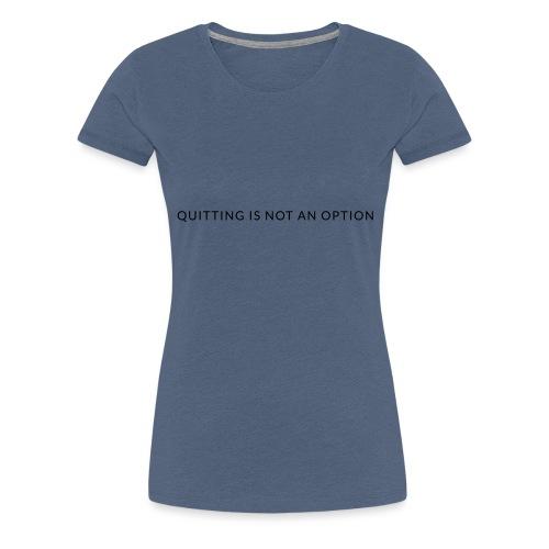 tagline3 - Women's Premium T-Shirt