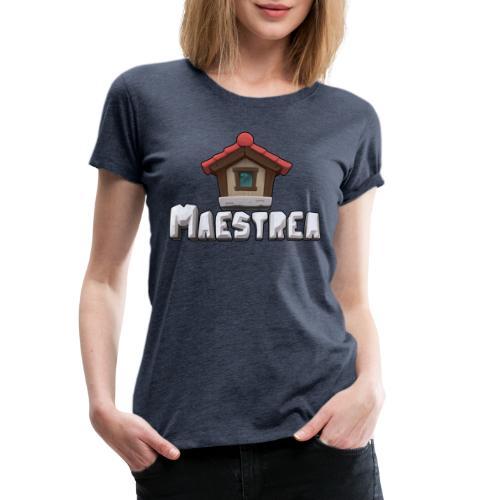 Maestrea Logo - Premium-T-shirt dam