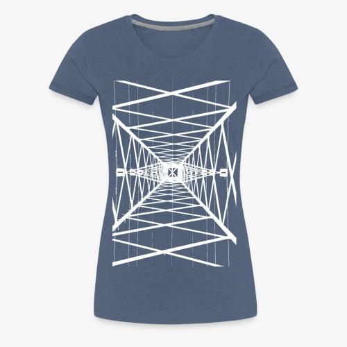 Hochmast Weiß - Frauen Premium T-Shirt