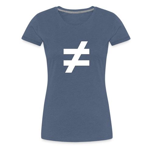 ≠ MOTIV - schwarzes Sweatshirt - Frauen Premium T-Shirt