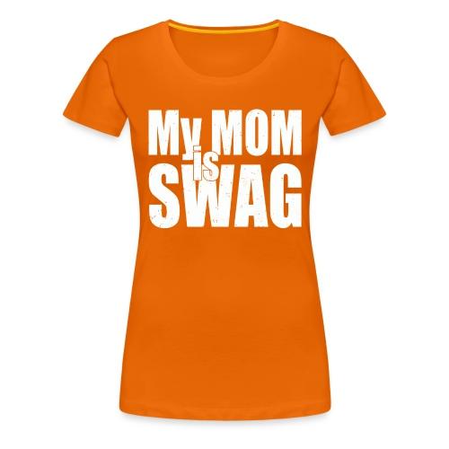 Swag White - Vrouwen Premium T-shirt