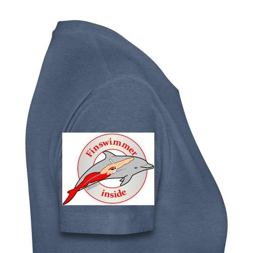Logo für alle Freunde des Finswimming - Frauen Premium T-Shirt
