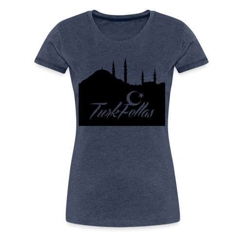 Turkfellas IST. skyline - Vrouwen Premium T-shirt