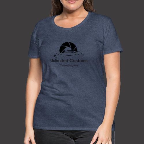 Logo schwarz4k - Frauen Premium T-Shirt
