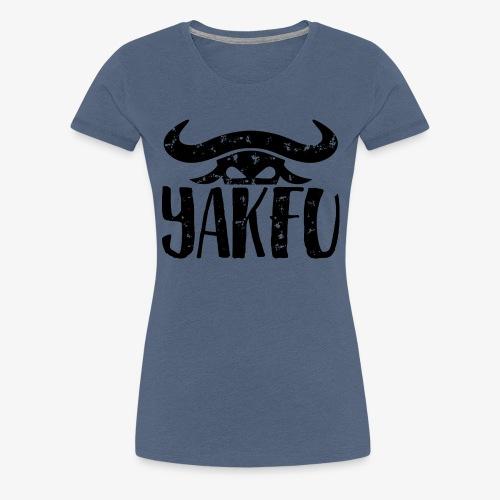 YakFu (Black) - Frauen Premium T-Shirt