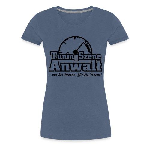 TuningSzeneAnwalt - Frauen Premium T-Shirt