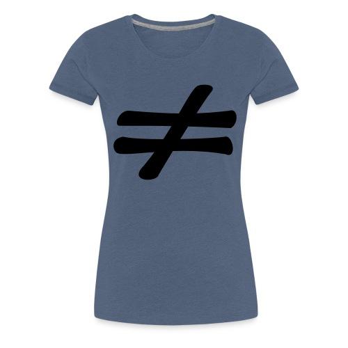 different - T-shirt Premium Femme