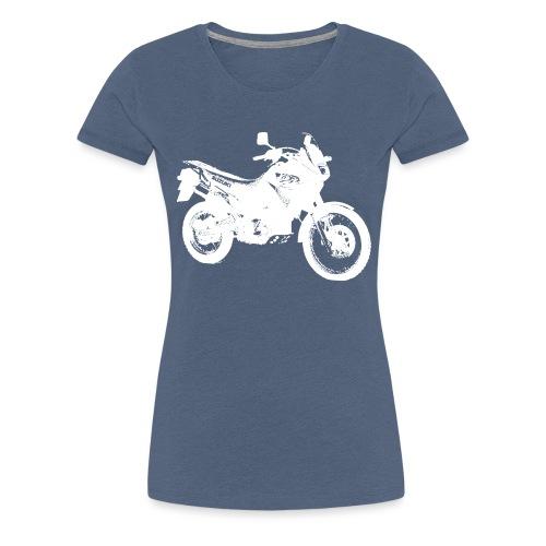 DR650RSE white - Frauen Premium T-Shirt