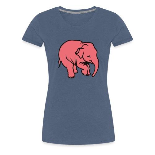 DT olifant - Vrouwen Premium T-shirt