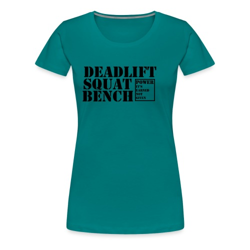 The Big 3 - Women's Premium T-Shirt