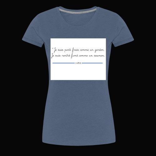 motif 7 jpg - T-shirt Premium Femme