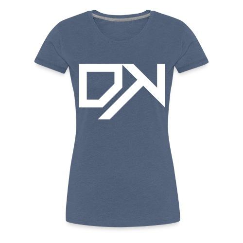 DewKee Logo Cap White - Women's Premium T-Shirt