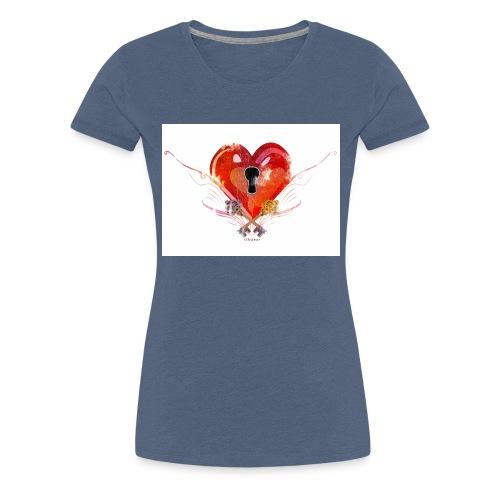 stvalentinmotif2 - T-shirt Premium Femme