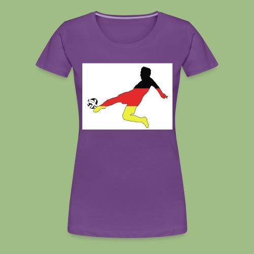 Mario Götze. Germany World Cup Winners - Premium-T-shirt dam