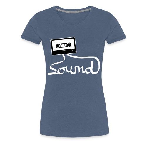 camiseta_Sound-png - Camiseta premium mujer