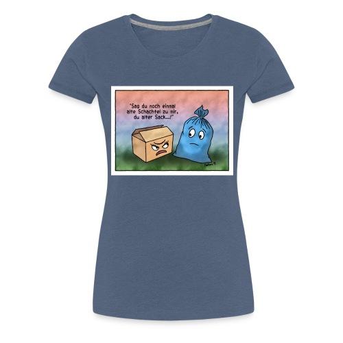 alte Schachtel - Frauen Premium T-Shirt