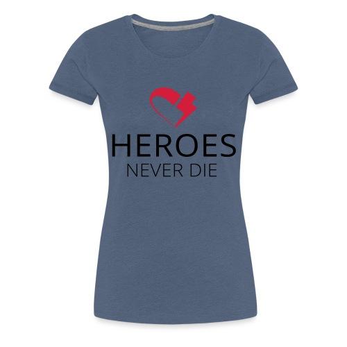 heroes flash-heart - Frauen Premium T-Shirt